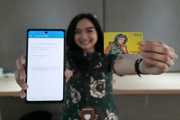 BNI Gandeng Jenius Layani Top Up TapCash